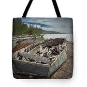 Shipwreck At Neys Provincial Park Tote Bag
