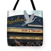 Shoreline Amphitheatre - Dead And Company Tote Bag