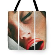 Side Kiss- Tote Bag by JD Mims