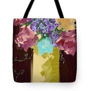 Sienna Floral Tote Bag