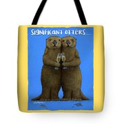 Significant Otters... Tote Bag