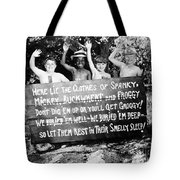 Silent Film: Little Rascals Tote Bag