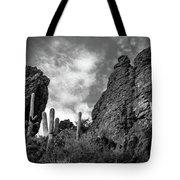 Silent Serenity Tote Bag