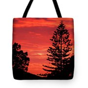 Simple Sunset Tote Bag