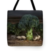 Simple Things - Man And Dog Tote Bag