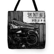 Sin Tatt Auto Works Tote Bag