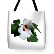 Single Rose Sharron Flower Tote Bag