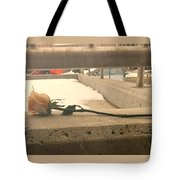 1 Single Lonely Rose Tote Bag