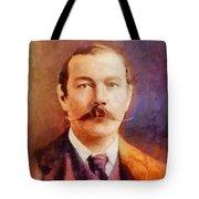 Sir Arthur Conan Doyle, Literary Legend Tote Bag