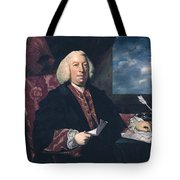 Sir James Hodges Tote Bag