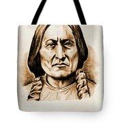 Sitting Bull Tote Bag