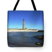 Skagen Denmark - Lighthouse Grey Tower Tote Bag