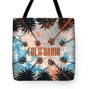 Skies Of California Tote Bag