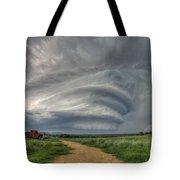Sky Monster Tote Bag