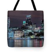 Skyline Of London Tote Bag