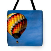 Skywalker - Hot Air Balloon Tote Bag by Ron Pate