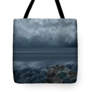 Slack Tide On The Jetty Tote Bag