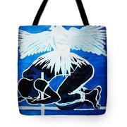 Slain In The Holy Spirit Tote Bag