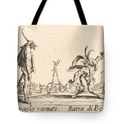 Smaralo Cornuto And Ratsa Di Boio Tote Bag