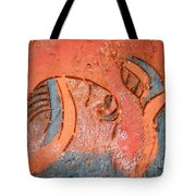 Smiles - Tile Tote Bag