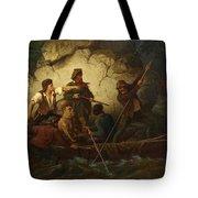 Smuggler In A Boat Tote Bag
