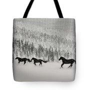 Snow Angels Tote Bag