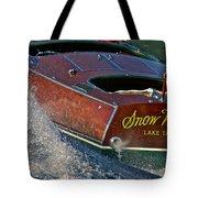 Snow Water Tote Bag
