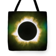 Solar Eclipse In Infrared Tote Bag