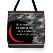Solar Eclipse Reflections 3 Tote Bag