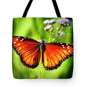 Soldier Butterfly Tote Bag