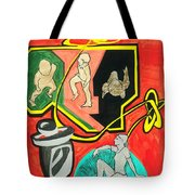 Some Of Us Prefer To Work While Others Simply To Rest. Tote Bag