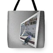 Somewhere It Is Raining Tote Bag