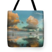 Sound Of Silence Tote Bag