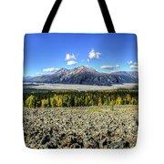 Sourdough Peak Tote Bag