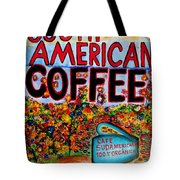 South American Coffee Tote Bag