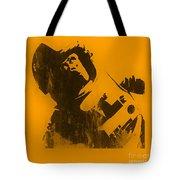 Space Ape Tote Bag by Pixel Chimp