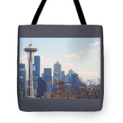 Space Needle 6 Tote Bag