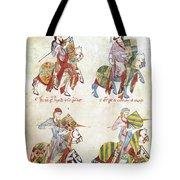 Spain: Knights, C1350 Tote Bag