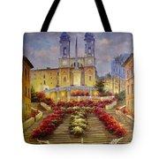 Spanish Steps, Rome Tote Bag