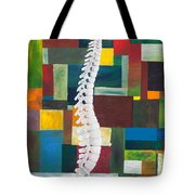 Spine Tote Bag by Sara Young