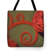 Spiral Ball With Felt Tote Bag