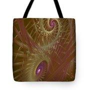 Spiral Maze  Tote Bag