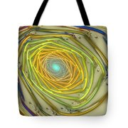 Spiral Rainbow Tote Bag