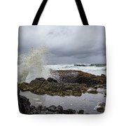 Splash In Thor's Well Tote Bag