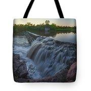 Split Rock Sunset Panorama Tote Bag
