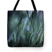 Spring Grass Emerging Tote Bag