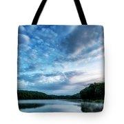 Spring Morning On The Lake Tote Bag