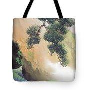 Spring Of Mountain Tote Bag