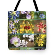 Spring Wildflowers II Tote Bag