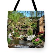 Springtime At The Old Mill Tote Bag